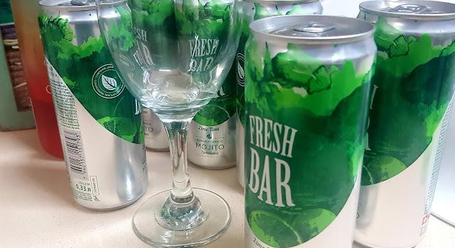 FRESH BAR MUJITO משקה מוחיטו, חדש על המדף