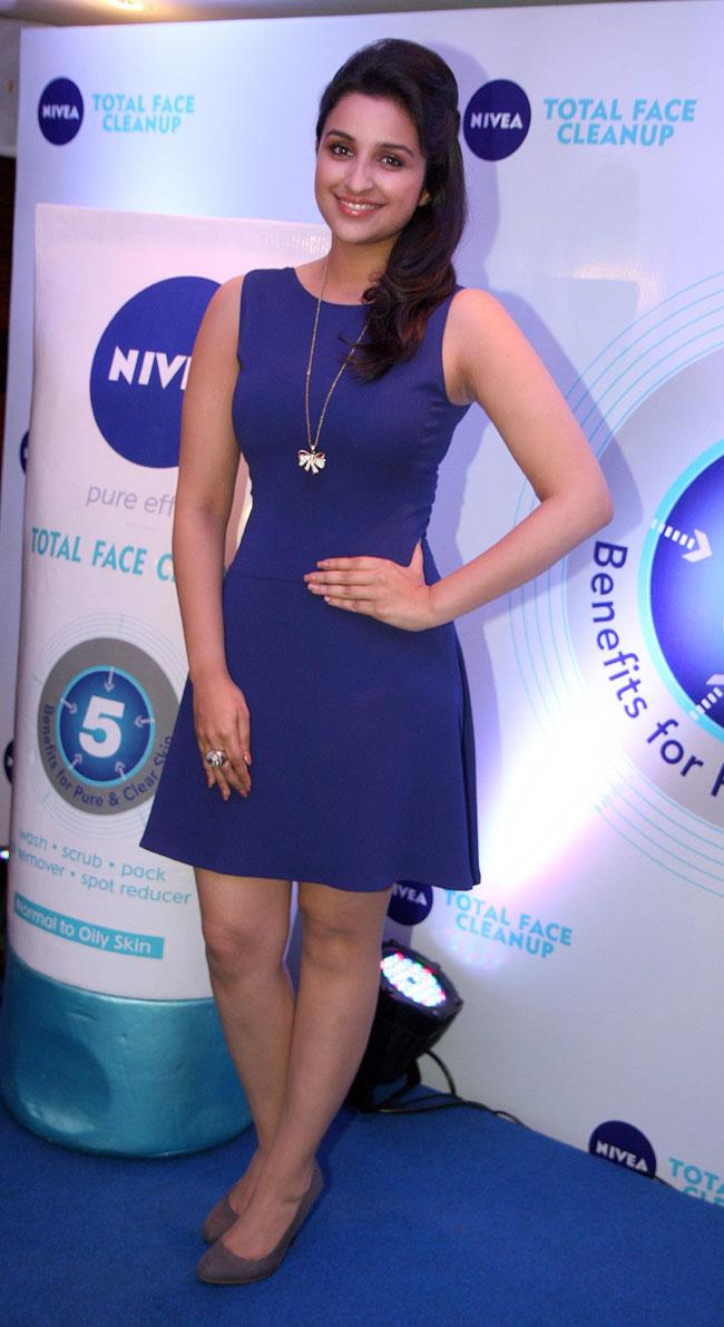 Parineeti Chopra At Nivea Face Clean Contest 2013 Shiner