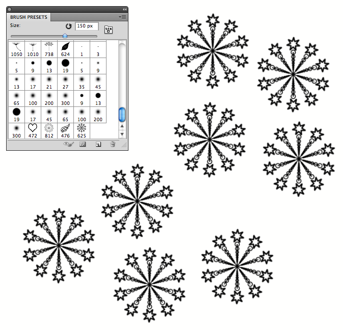 Mac in art: Creating Photoshop Brushes using Adobe