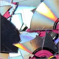 Разбитые диски CD