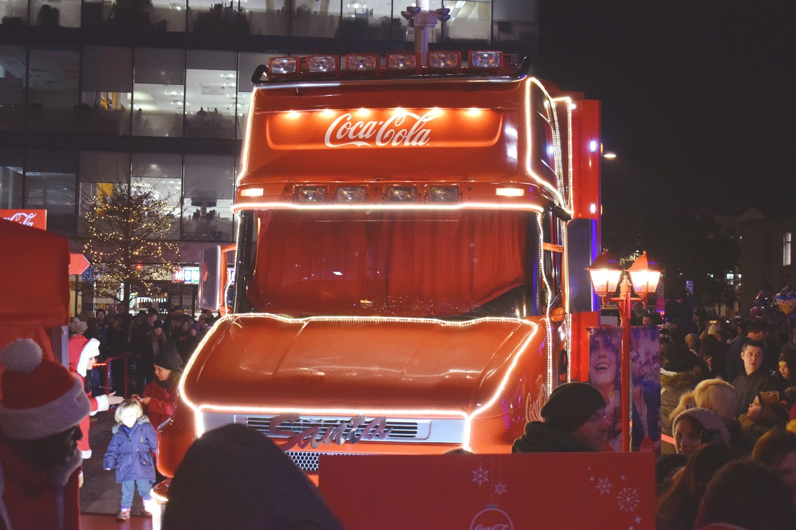 lebellelavie - The Coca-Cola Truck came to Southampton