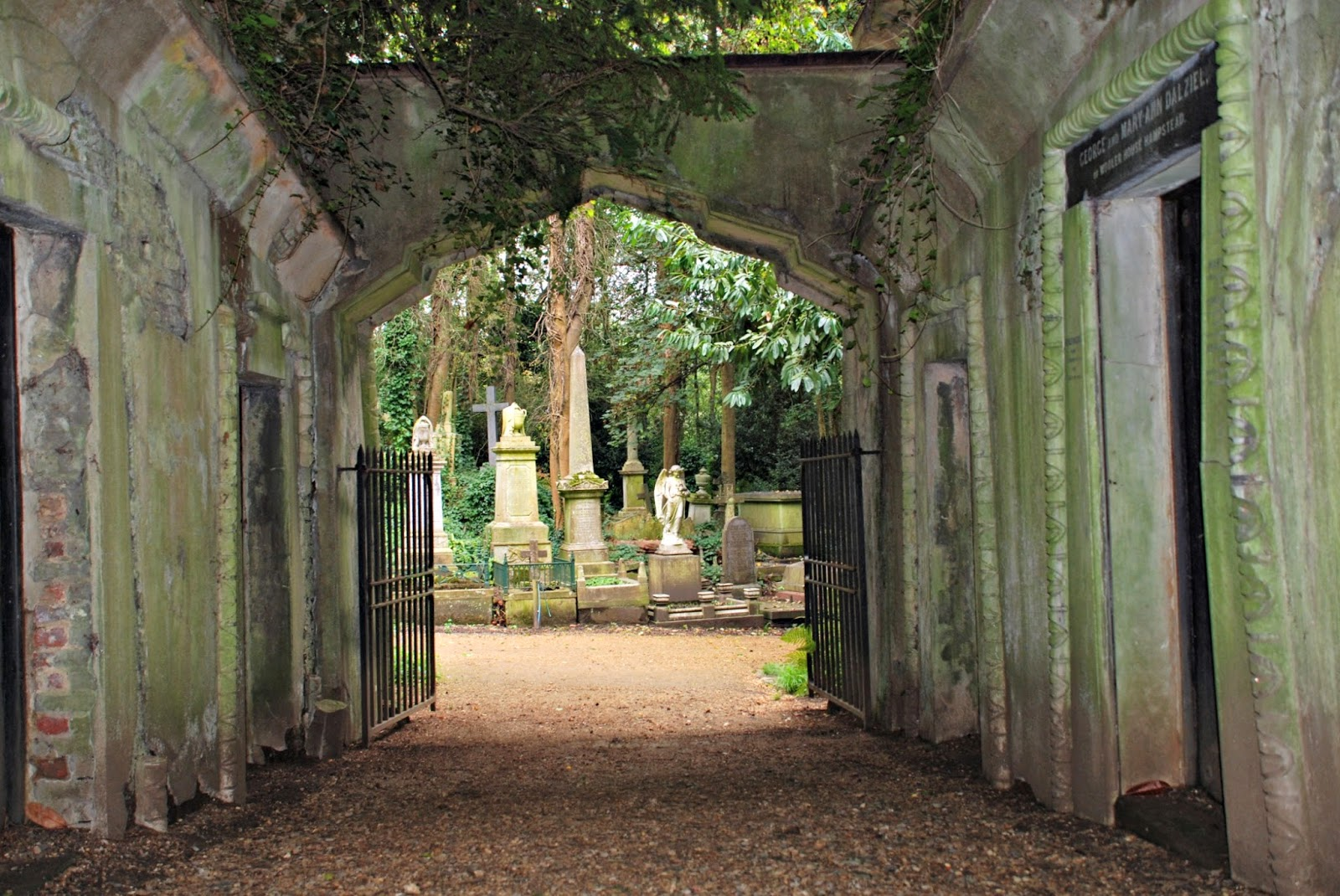The Egyptian Avenue, Highgate Cemetery, London