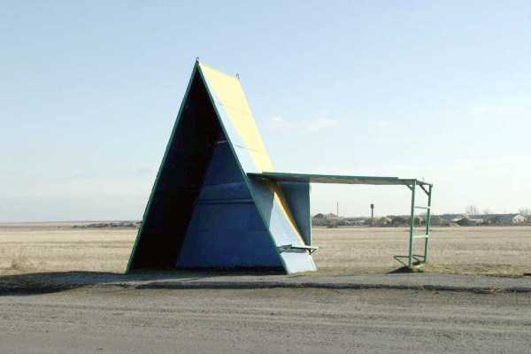 Mikeliveiras Space Surreal Bus Stops Of The Soviet Era