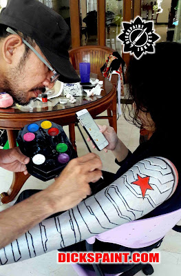 Body Painting Jakarta Selatan