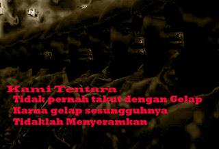 Gambar Kata  Kata Bijak TNI Tegas Disiplin dan Menginspirasi