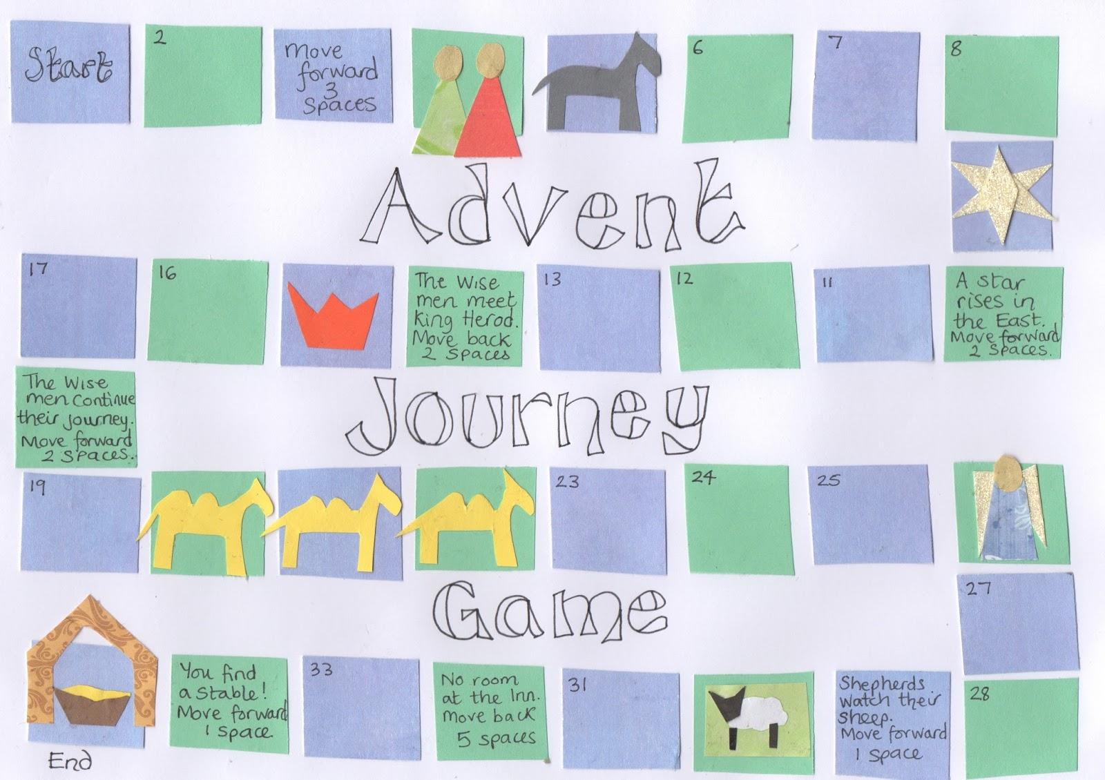 flame creative children 39 s ministry advent journey game. Black Bedroom Furniture Sets. Home Design Ideas