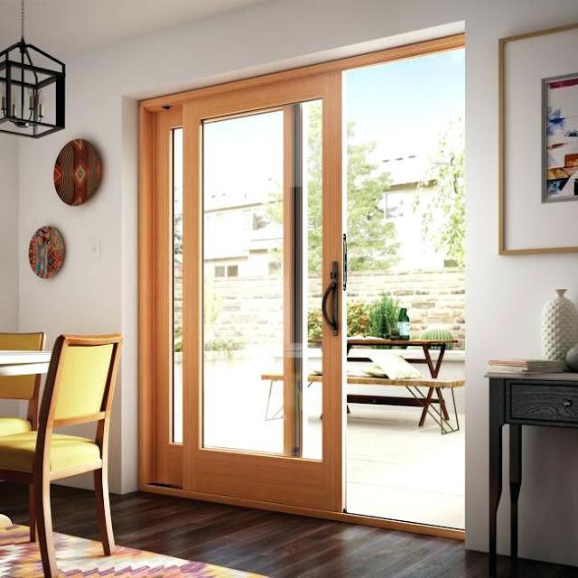 60 Desain Pintu Geser Solusi Sempurna Ruang Sempit Rumahku Unik