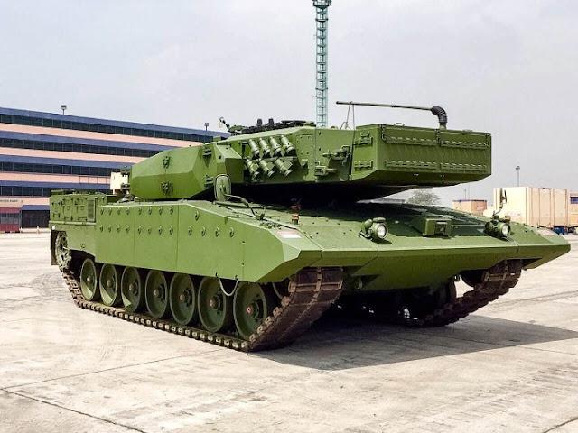 Mengitip Kehebatan Tank Leopard Revolition 2RI Milik TNI AD