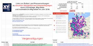 Случаи сексуального насилия в Германии и Австрии