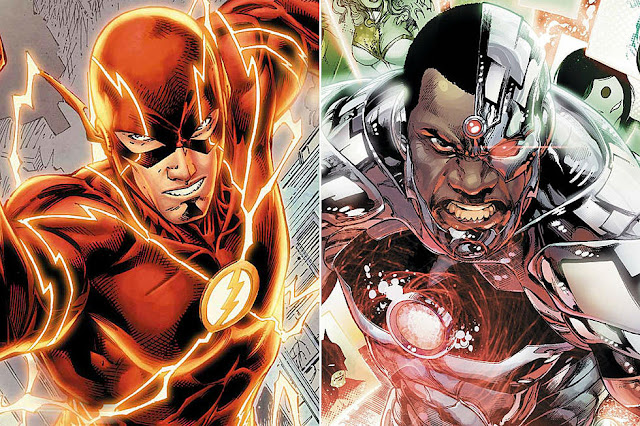 The Flash and Cyborg