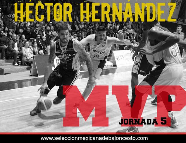 Héctor Hernández Fuerza Regia LNBP Basquetbol