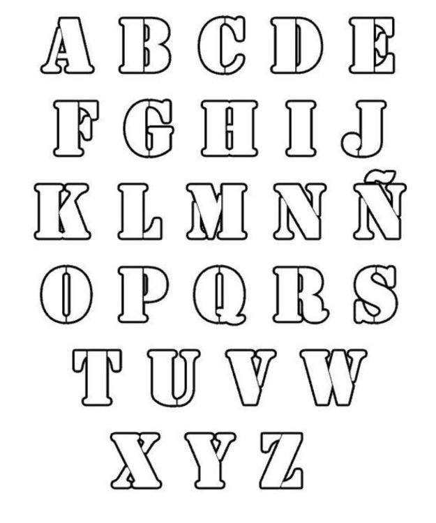 FUN & LEARN : Free worksheets for kid: ภาพระบายสี ABC, A-Z