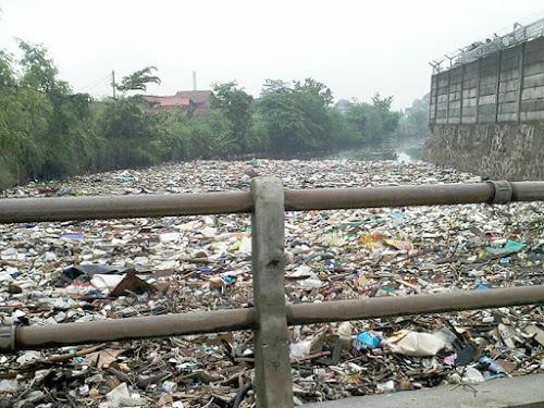 Sampah Sungai Citepus Dayeuhkolot