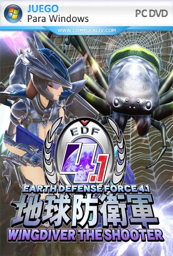 Earth Defense Force 4.1: Wing Diver The Shooter PC Full