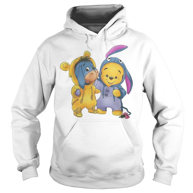 Baby Pooh And Eeyore Hoodie, Baby Pooh And Eeyore Sweatshirt, Baby Pooh And Eeyore Shirts