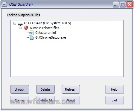 Setup download USB Guardian