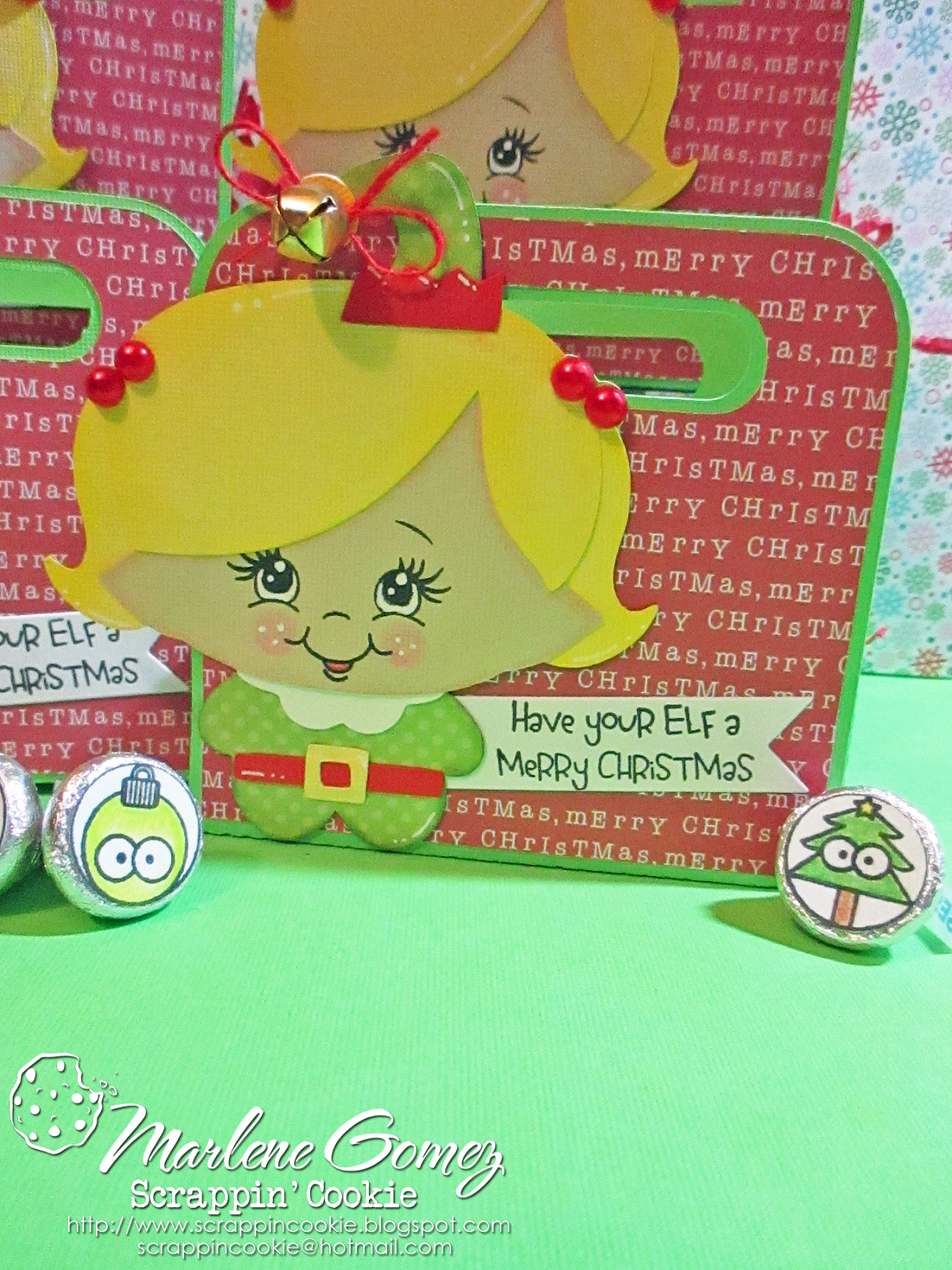 2a10892f3 Have your ELF a Merry Christmas Gift Card Holders | Scrappin Cookie