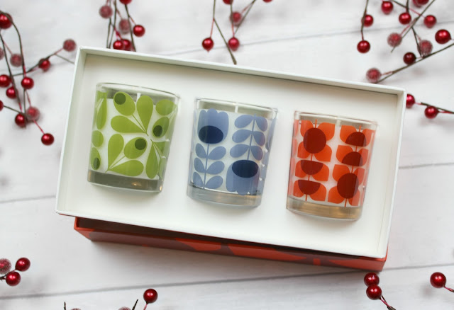 A review of Orla Kiely Mini Candle Gift Set