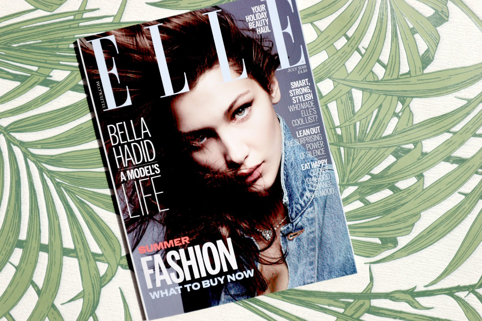 Elle Magazine Free Look Fantastic Beauty Box