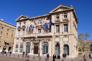 Hôtel de Ville o Ayuntamiento de Marsella.