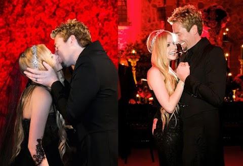 La boda de Avril Lavigne y Chad Kroeger, una de las más memorables de la década