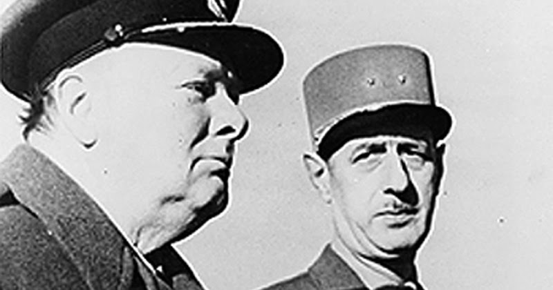 Winston Churchill and Charles de Gaulle's relationship documented at Paris exhibition