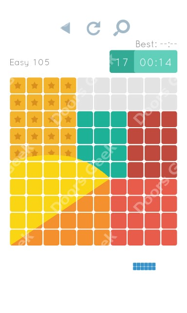 Cheats, Walkthrough for Blocks and Shapes Level 105