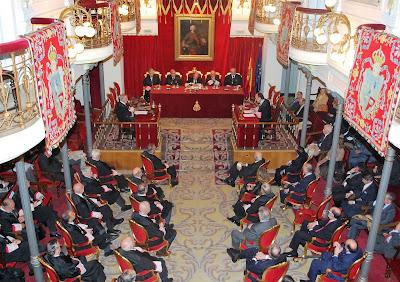 Gran salón de la Real Academia de Jurisprudencia y Legislación