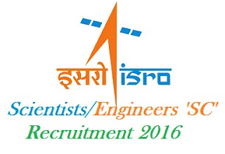 ISRO Scientists Engineers Recruitment