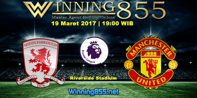 Prediksi Skor Middlesbrough vs Manchester United 19 Maret 2017