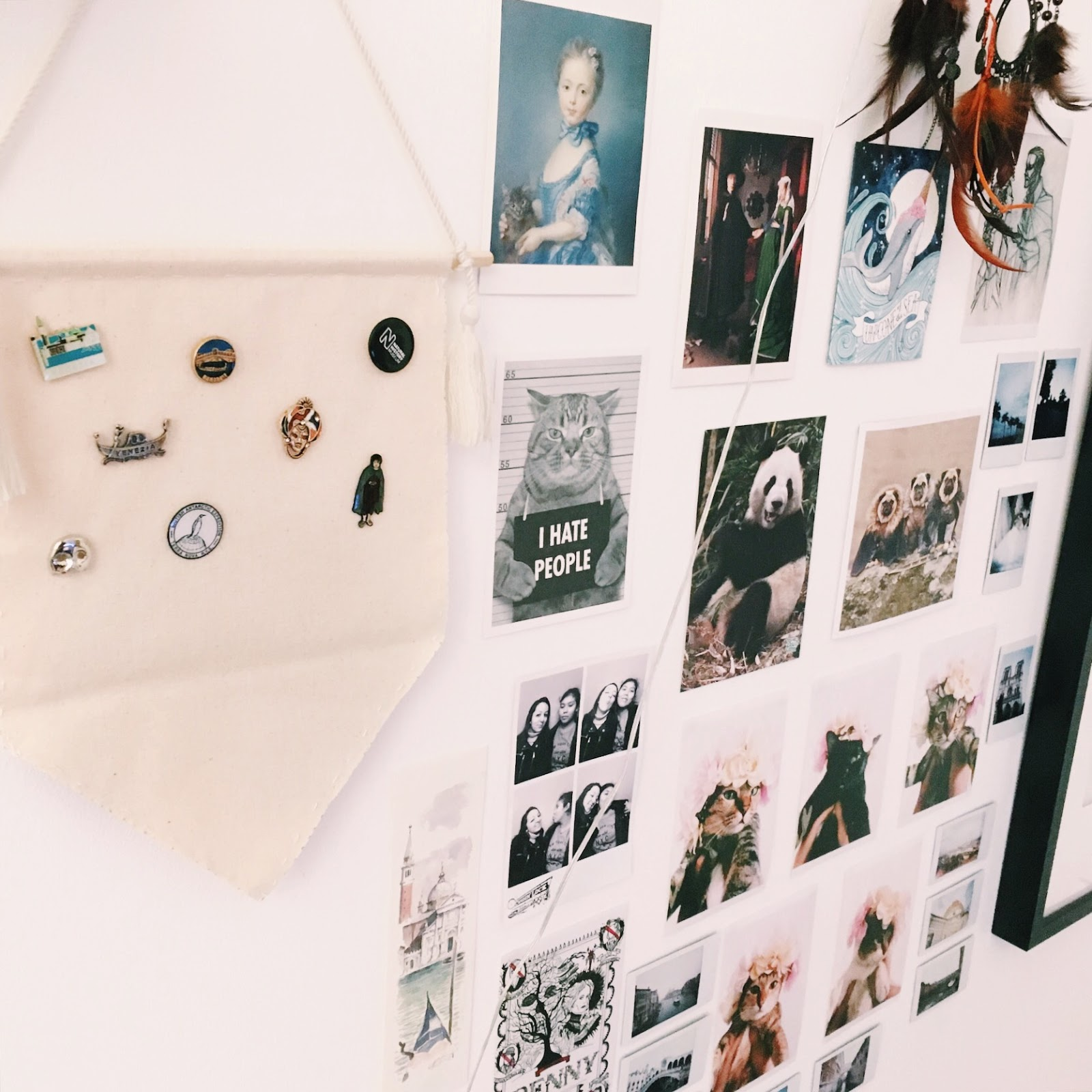 Teen DIY: DIY Enamel Pin Display Banner