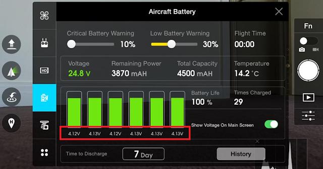 12 Cara Merawat Intelligent Flight Baterai Dji