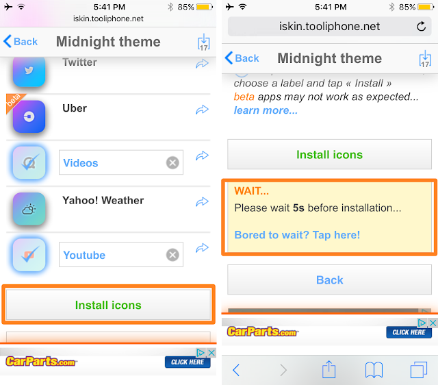 Yes, you got the title right! You can now install themes on your iPhone, iPad and iPod Touch even if your device is not Jailbroken.