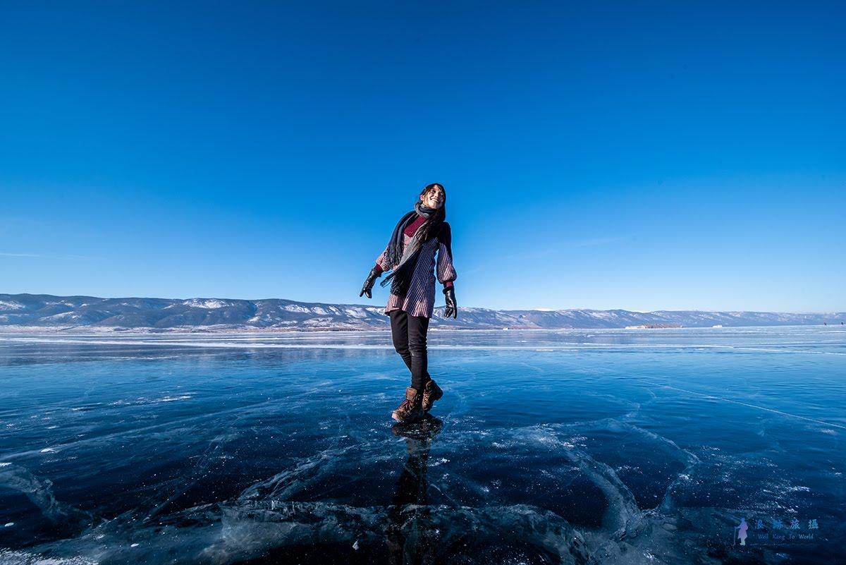俄羅斯‧貝加爾湖‧藍冰 - 南線