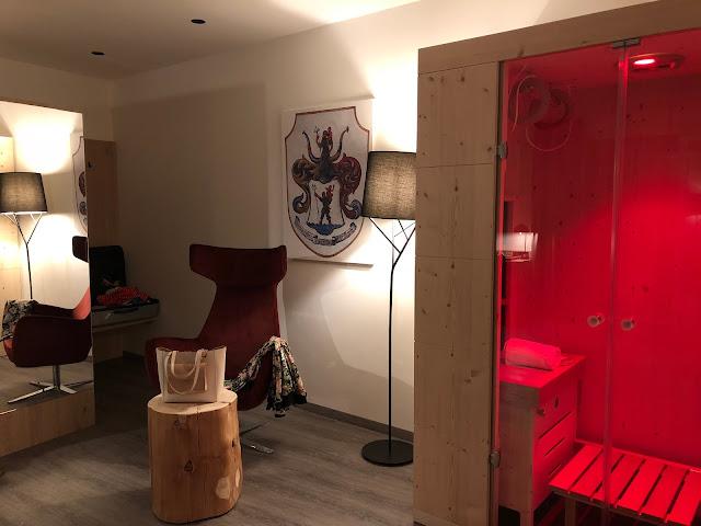 private sauna suite