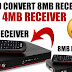 HOW TO CONVERT PROTOCOL 8MB HD RECEIVER TO 4MB THROUGH BY USB