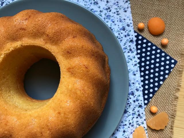 bizcocho de fanta naranja receta