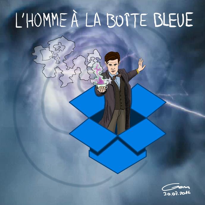 Doctor Who dans une Dropbox
