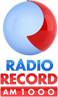 logotipo da rádio record am 1000khz de são paulo