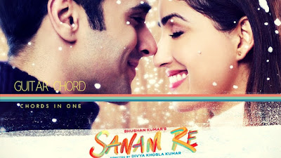 Sanam Re Guitar Chords and Intro tab on Chords In One.