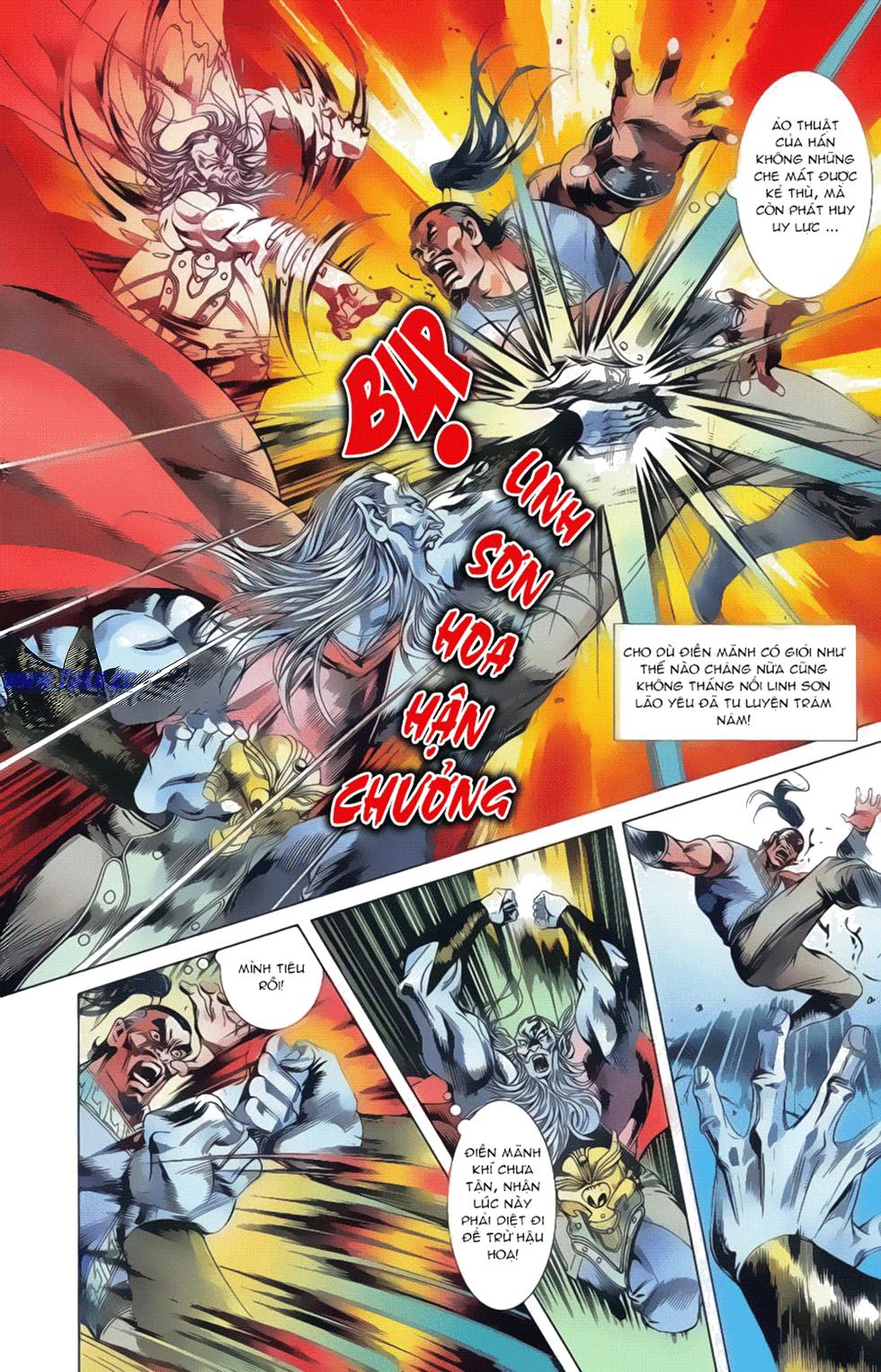Tần Vương Doanh Chính chapter 17 trang 14