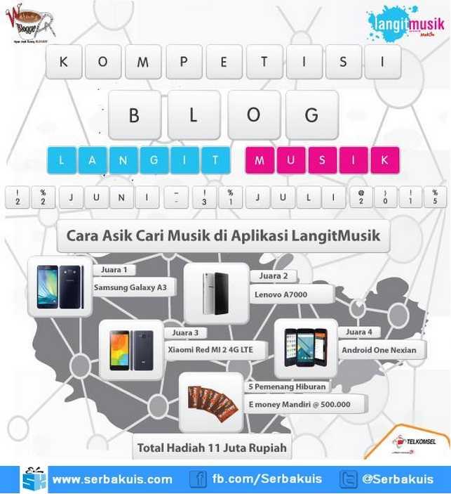 Kontes Blog LangitMusik Berhadiah Total 11 Juta Rupiah