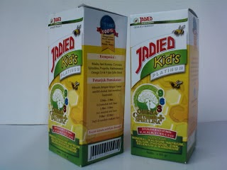 Jual Jadied For Kid Madu Herbal untuk Konsentrasi dan gairah belajar anak