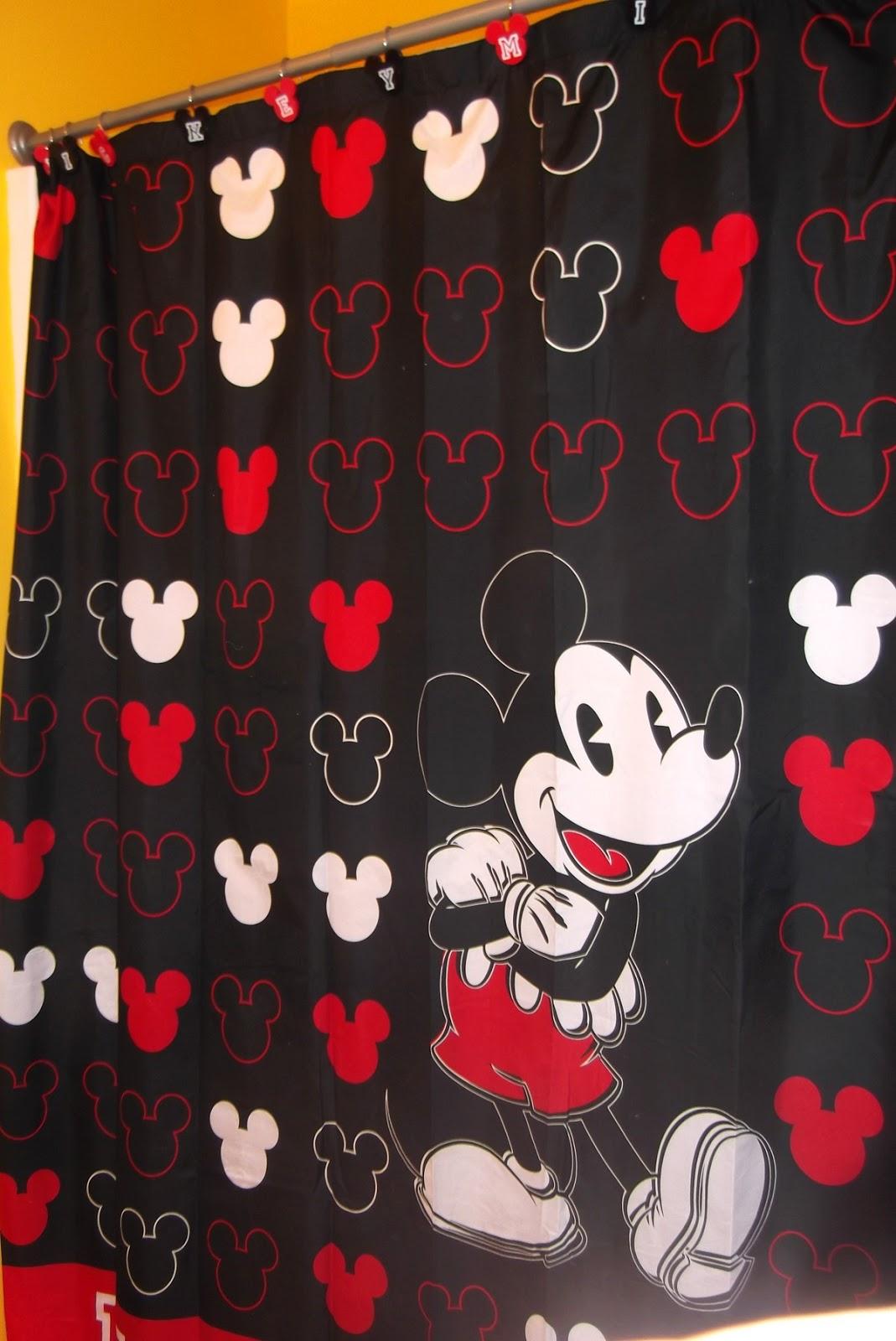 Disney At Heart Mickey Bathroom