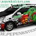 Mobil, Honda, Brio, Cutting Sticker, Cutting Sticker Bekasi, Decal, Hulk, sticker mobil bekasi, jakarta, Bekasi,