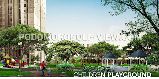 Podomoro Golf View Apartment Children Playground