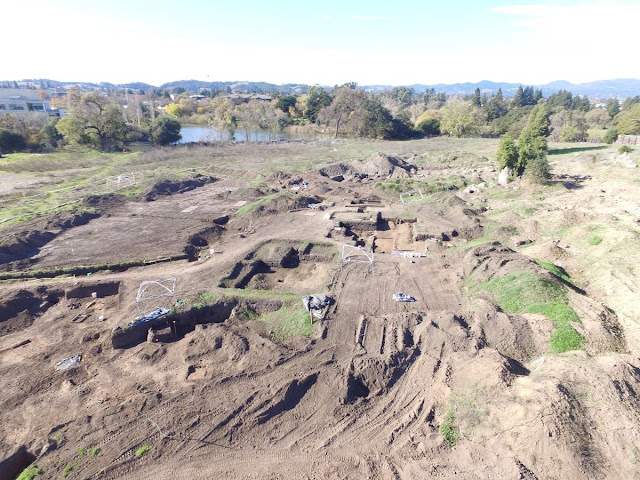 Massive Napa archaeological dig continues at future hotel site