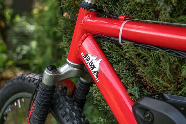 E-Bike-Umbau So baust du dir dein eigenes E-Bike mit Mittelmotor  DIY E-MTB Anleitung zum E-Bike Umbau mit Bafang BBS01 Mittelmotor E-Bike selber bauen aus altem Mountainbike 33