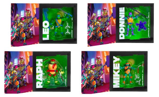 Rise of the Teenage Mutant Ninja Turtles collector toys