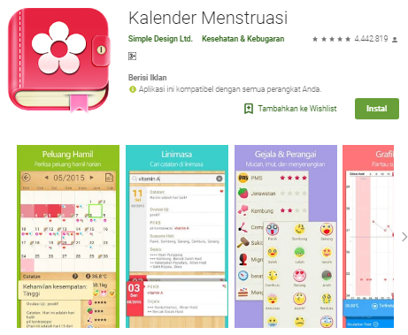 Diyanika Journal 4 Aplikasi Android Untuk Menghitung Usia Kehamilan Secara Tepat